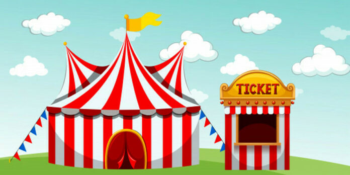circus tent ticket booth 1308 28090 2